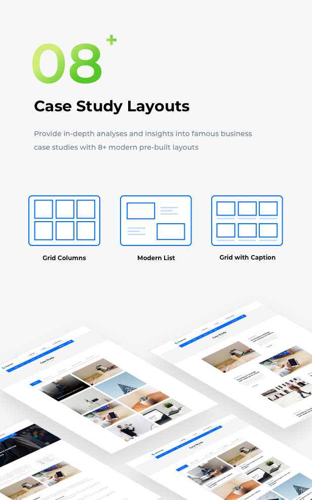 Business Financial Institution WordPress Theme - Your case studíe page