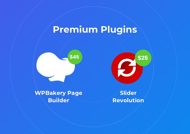 Business Financial Institution WordPress Theme - Premium Plugins bundled