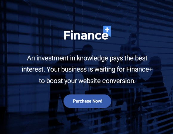 Finance & Finance Business WordPres Theme - Purrchase now