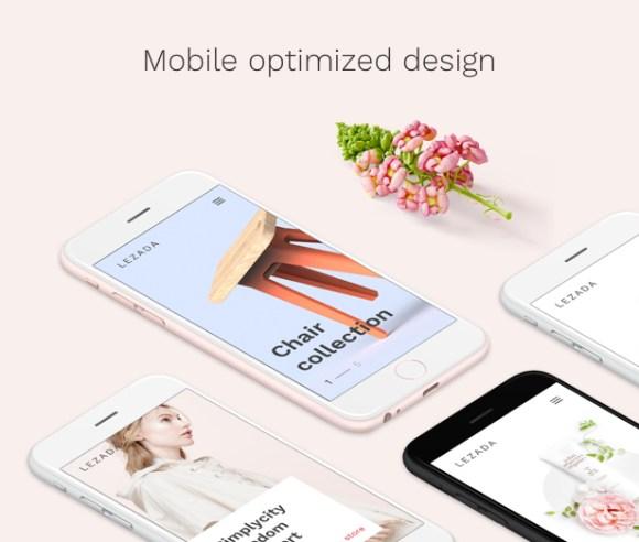 Fashion WooCommerce WordPress Theme - Mobile Ready