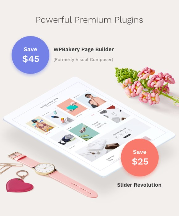 Fashion WooCommerce WordPress Theme - Premium Plugins Bundled