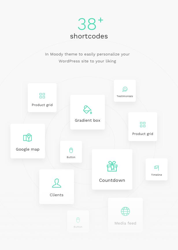 Moody - A Modern & Flexible Multipurpose WordPress Theme