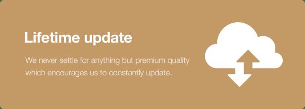 Interior Design WordPress Theme - Lifetime Update