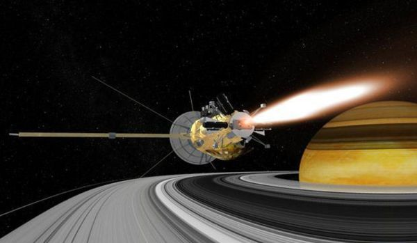 Cassini set to embark on final five orbits around Saturn