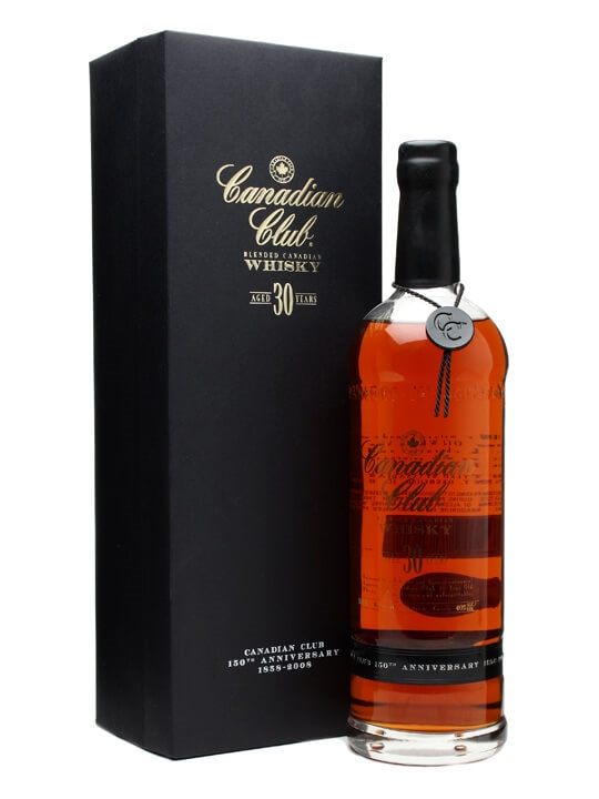 Canadian Club 30 Year Old 150th Anniversary The Whisky