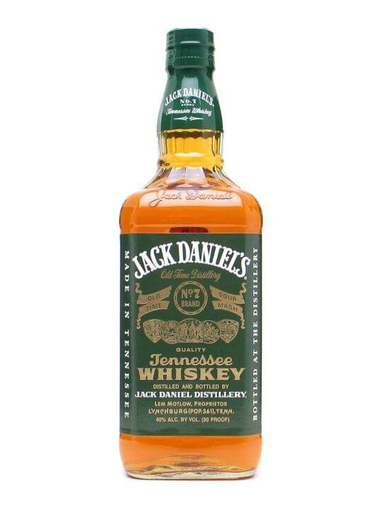 Jack Daniels Green Whiskey Apple