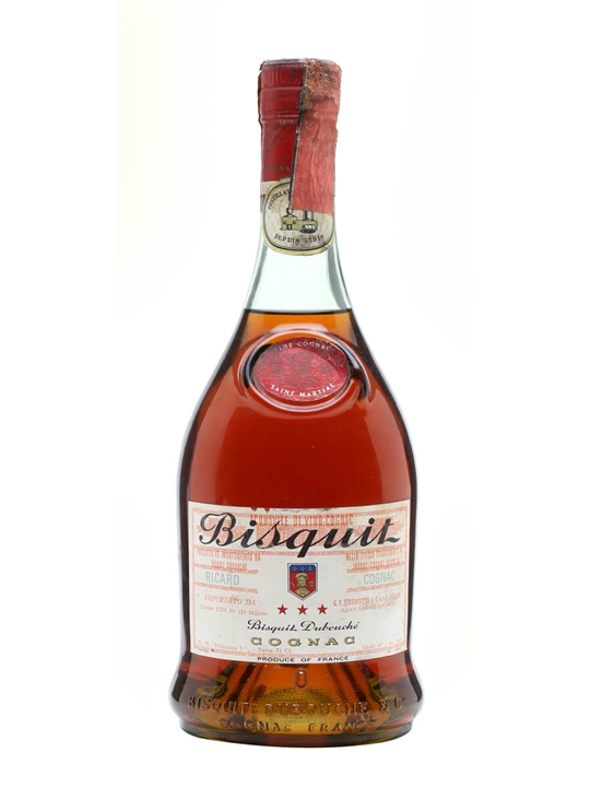 Bisquit Dubouche 3 Star Cognac Bot1960s The Whisky