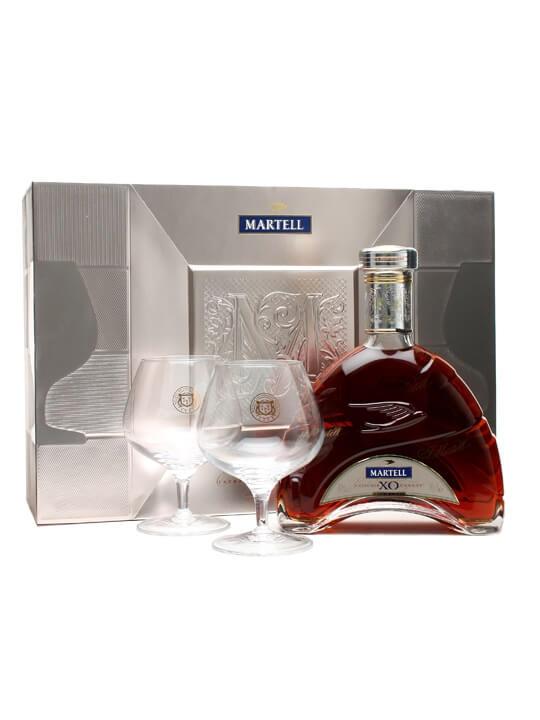 Martell XO Cognac 2 Glasses Gift Pack The Whisky Exchange