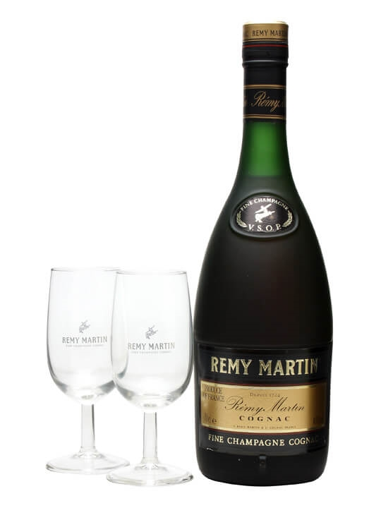 Remy Martin VSOP Cognac 2 Glasses The Whisky Exchange