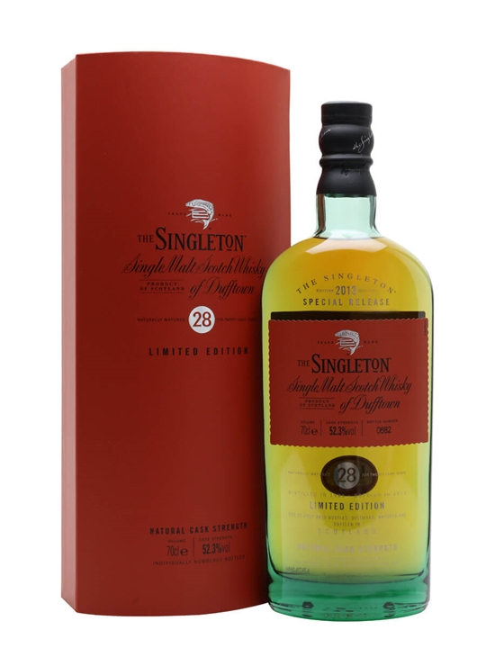 Singleton Of Dufftown 1985 28 Year Old Scotch Whisky