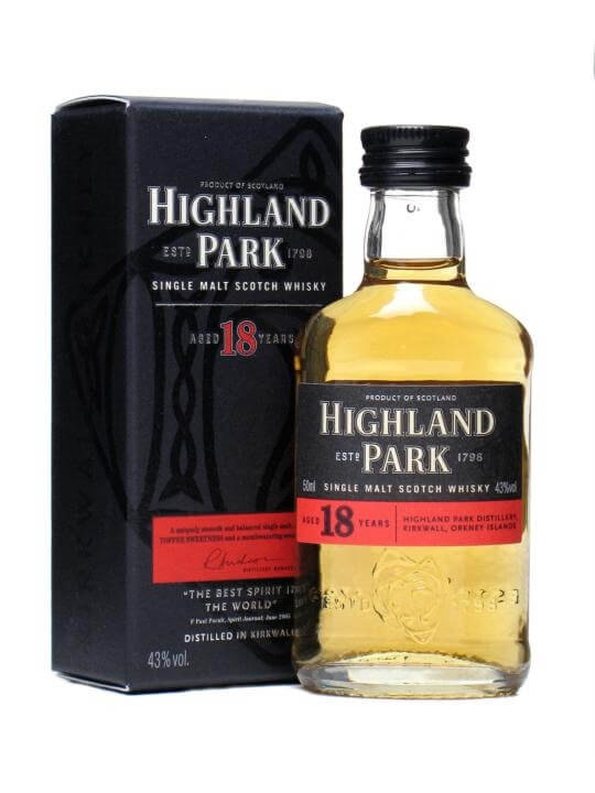 Highland Park 18 Year Old Miniature The Whisky Exchange