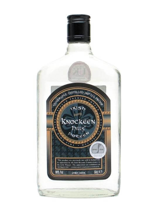 Knockeen Hills Poteen Gold Extra Strength The Whisky