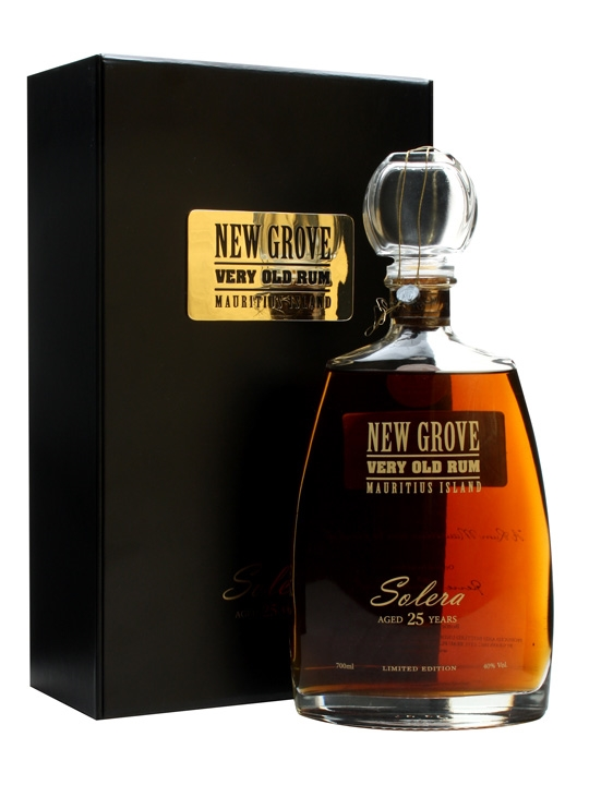 New Grove Solera 25 Year Old Very Old Rum Buy From World