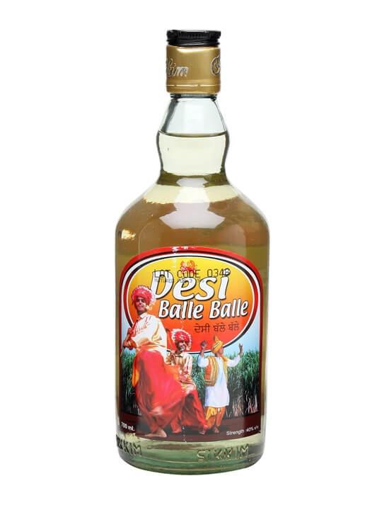 Desi Balle Balle Spiced Sugar Cane Spirit The Whisky