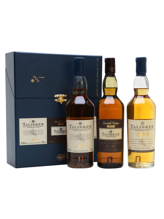 Talisker Gift Pack 3x20cl Scotch Whisky The Whisky