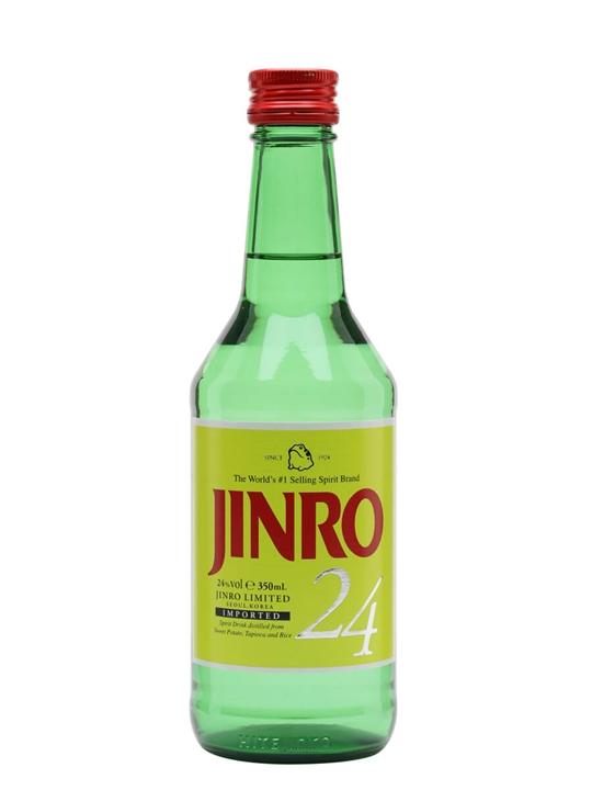 Jinro 25 Soju Half Bottle The Whisky Exchange