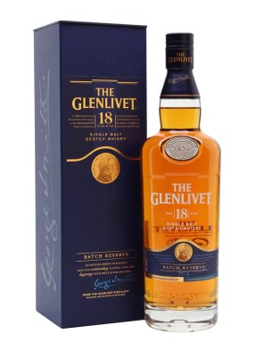 Glenlivet 18 Year Old Scotch Whisky : The Whisky Exchange