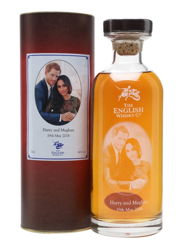 English Whisky Company Harry & Meghan Royal Wedding