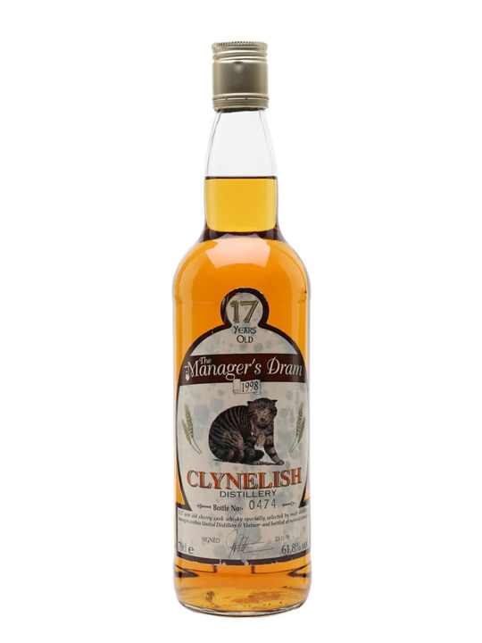 Clynelish Manager's Dram