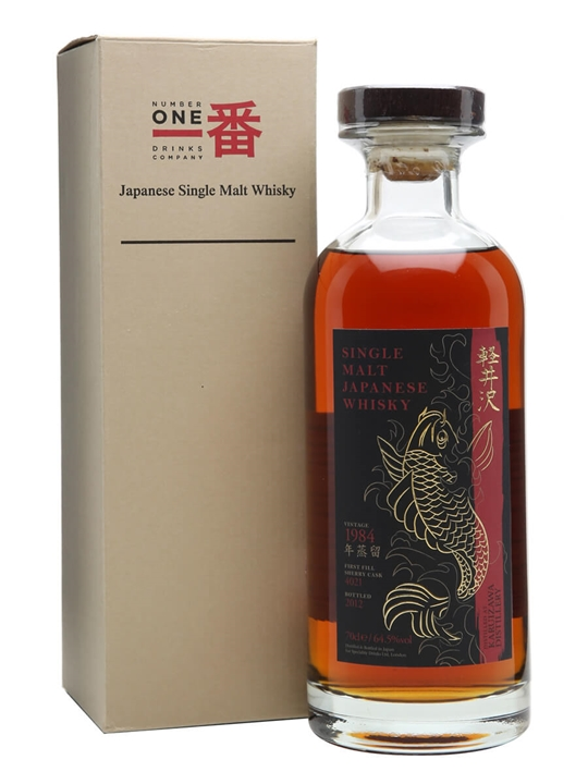Karuizawa 1984, at the Whisky Exchange