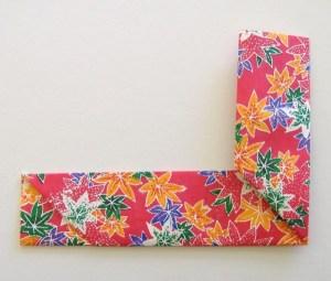Origami Chopstick Wrapper | ThriftyFun