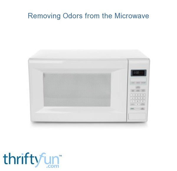 removing odors from the microwave