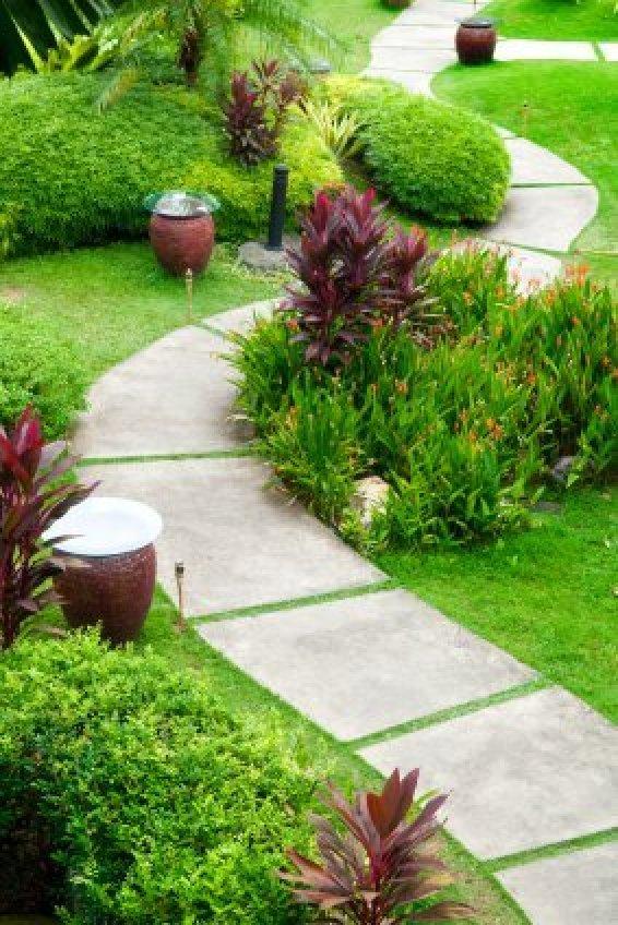 Garden Path Ideas | ThriftyFun on Patio And Path Ideas  id=31360