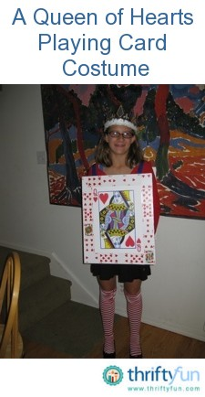 Halloween Playing Card Costume ThriftyFun