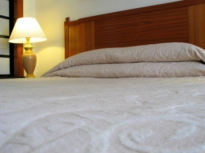 Photo Of A Bed With Memory Foam Mattress