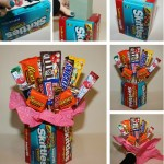 How To Make A Candy Bouquet Thriftyfun