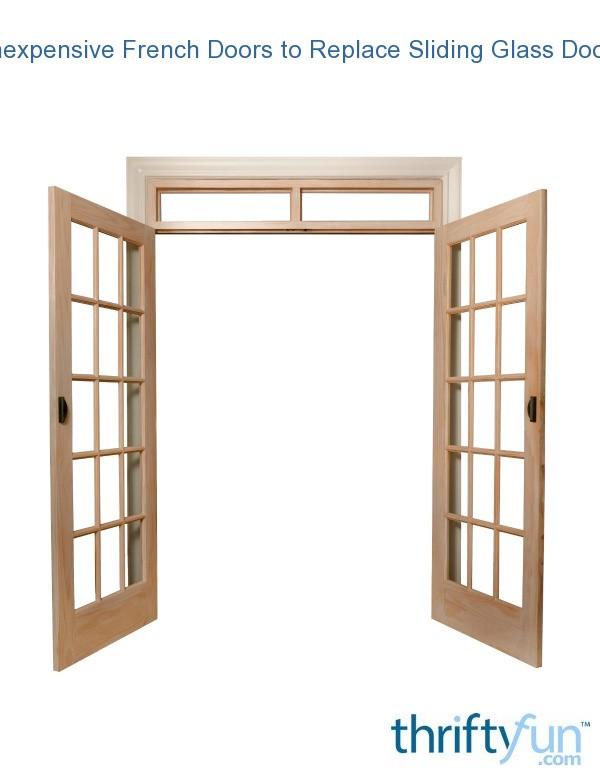 replace sliding glass door