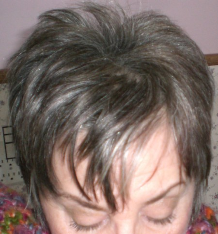 color rinse for gray hair for highlights dark brown hairs
