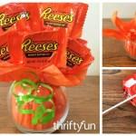 Making A Mini Pumpkin Candy Bouquet My Frugal Halloween