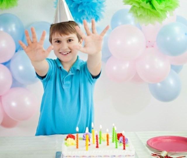 A Boy On His 10th Birthday
