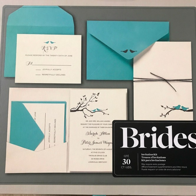 Using A Printable Kit For Wedding Invitations Thriftyfun