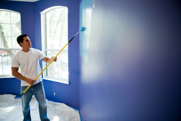 Painting a Room Two Colors | ThriftyFun on Room Painting id=44073