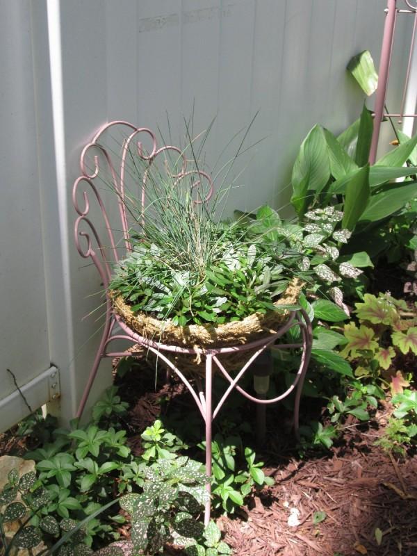 Metal Garden Love Seat