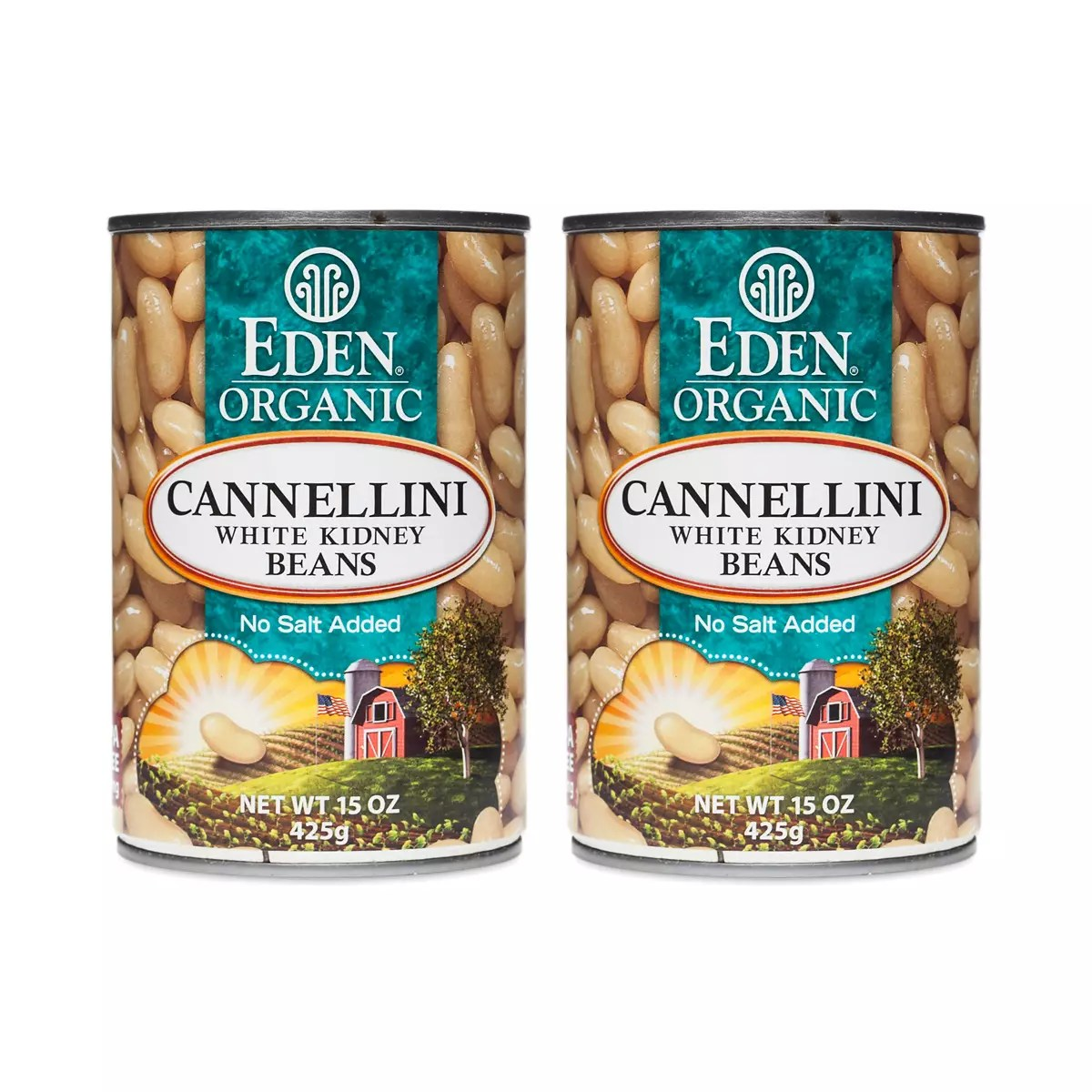 Organic Cannellini (White Kidney) Beans (2-pack)