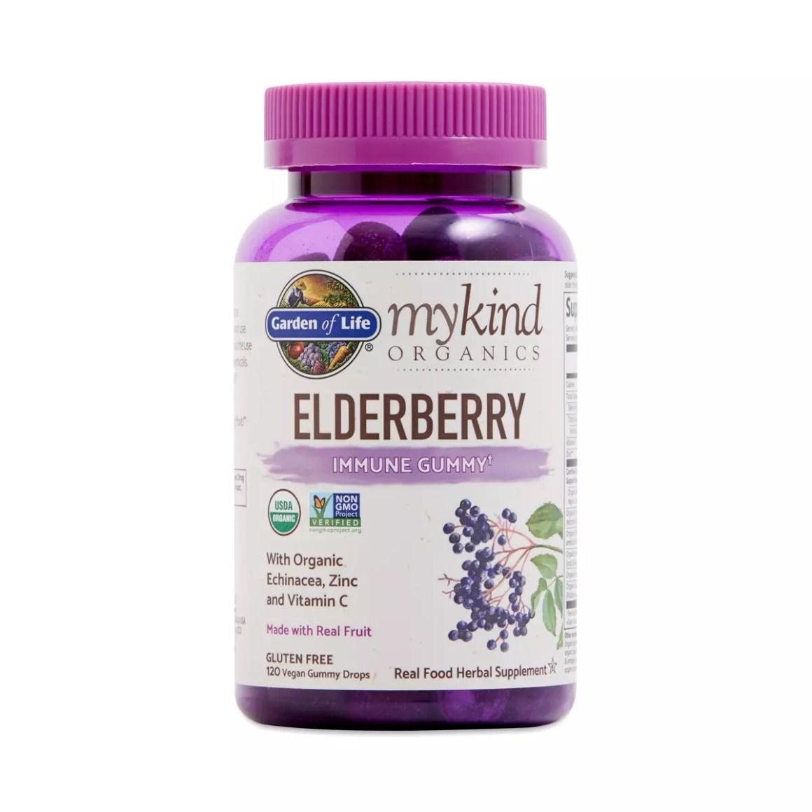 Garden of Life myKind Organics Elderberry Immune Gummies