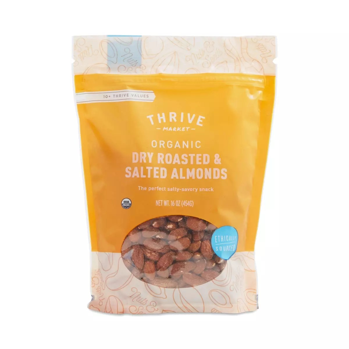 Organic Dry Roasted & Salted Almonds