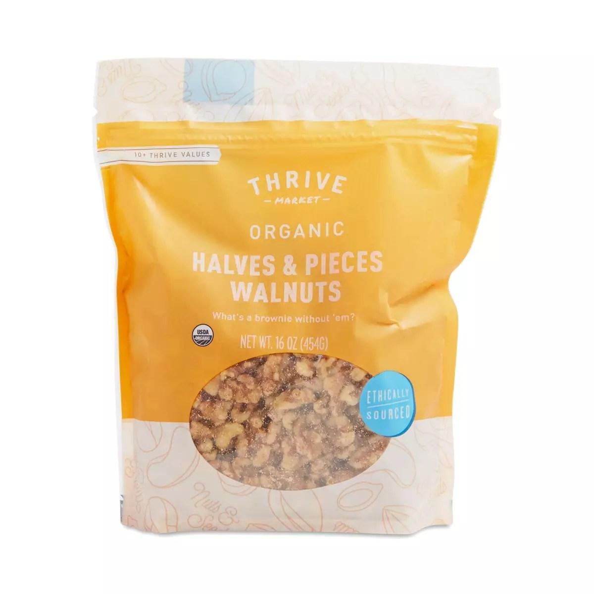 Organic Walnut Halves & Pieces