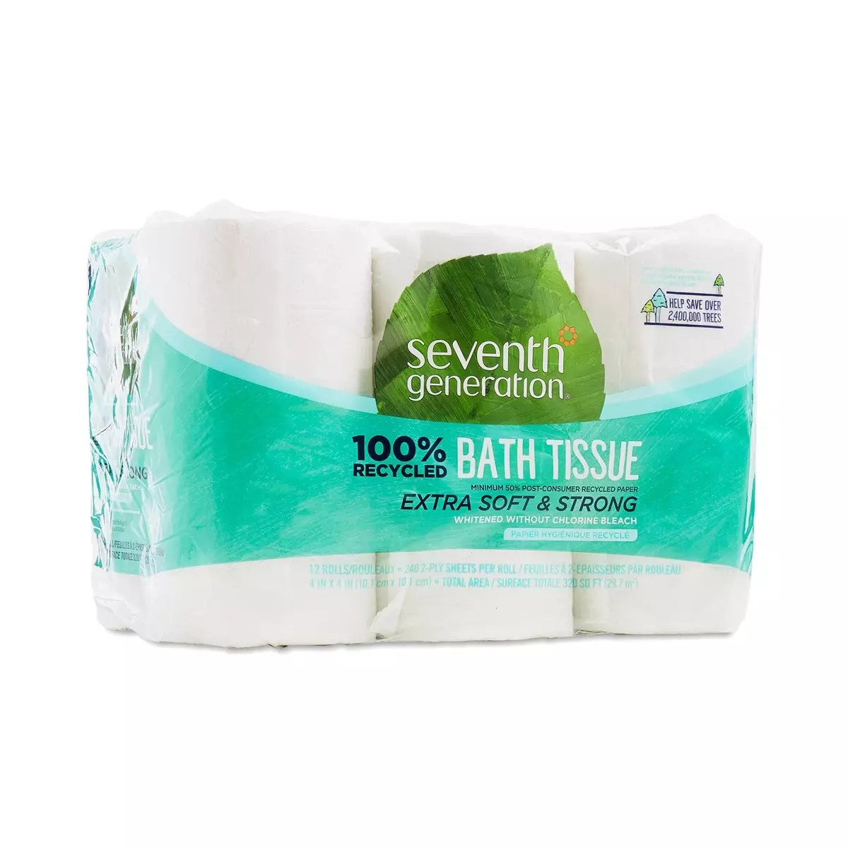 bathroom tissue by seventh generation - thrive market