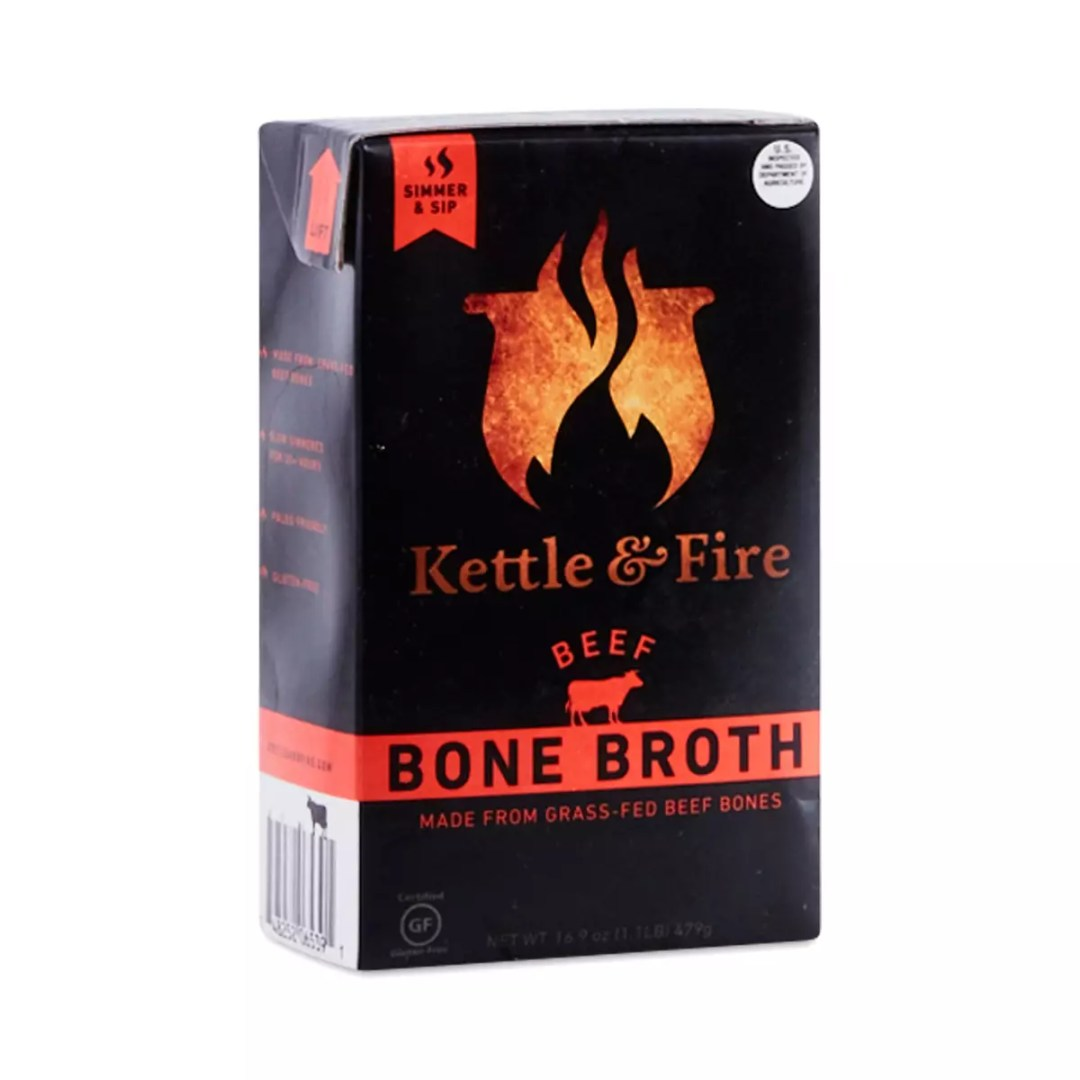 Image result for kettle & fire bone broth