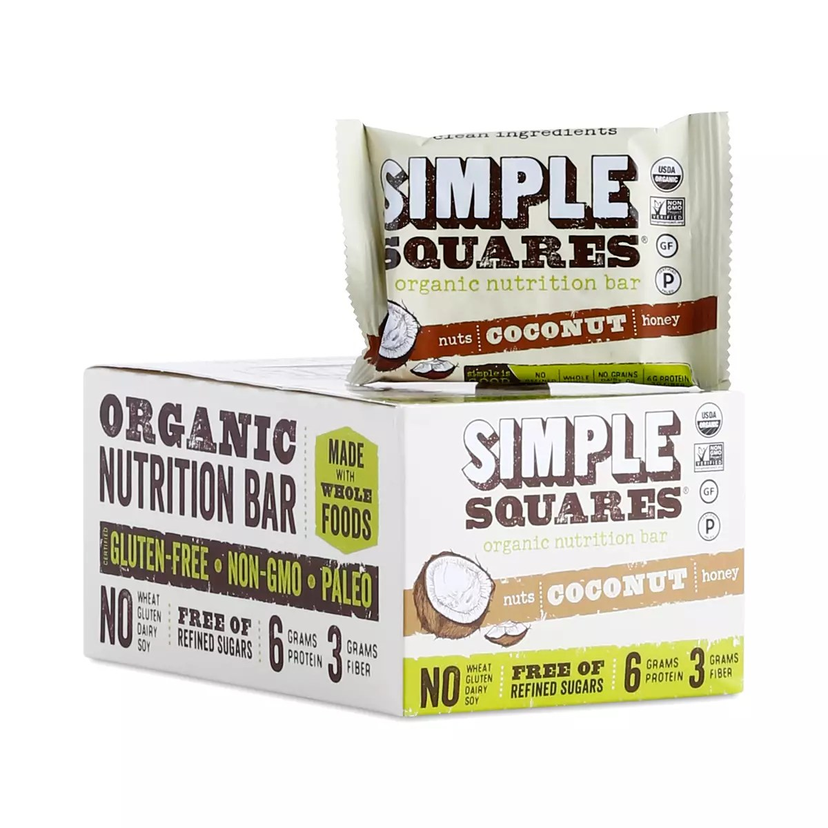 Organic Nutrition Bar, Coconut
