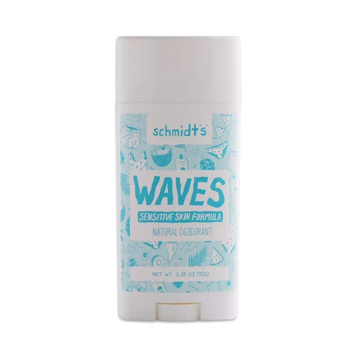 Waves Sensitive Skin Deodorant Stick - Limited Edition