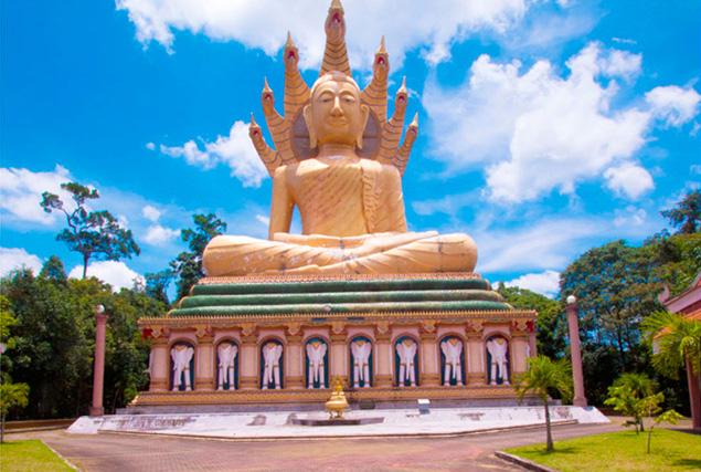 Национальный парк Као Сок. Храм Suwankuha (Monkey Cave)