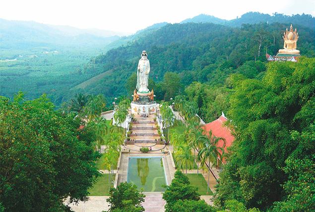Национальный парк Као Сок. Храм Bang Riang