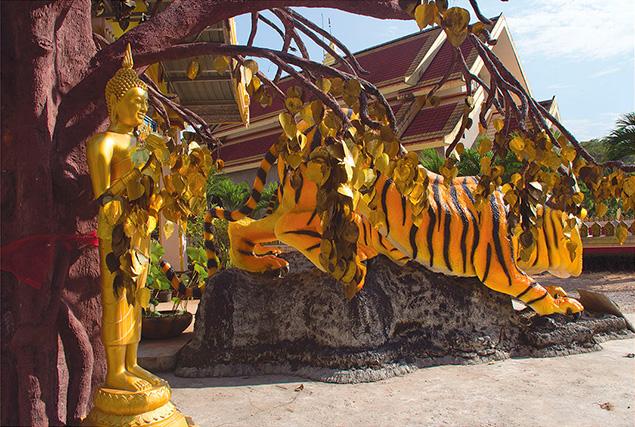 Очарование Краби. Храм «Пещера тигра»