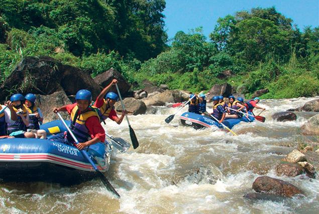 Провинция Пханг Нга & рафтинг. Сплав по реке