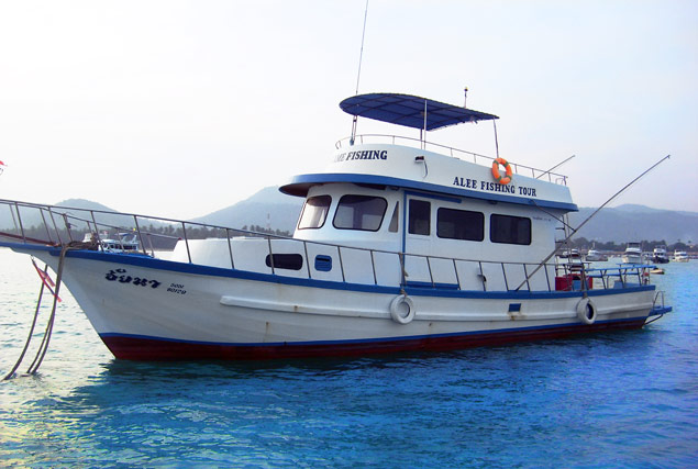 Лодка Aina